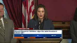 Whitmer says House bill cutting auto insurance rates doesn't meet her standards [Video]