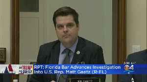 Florida Bar Moving Forward With Investigation Into Florida Congressman Matt Gaetz [Video]