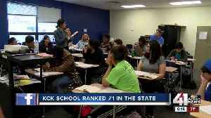 KCK school ranked first in state [Video]