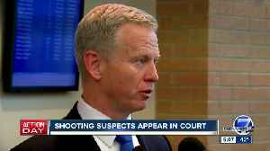 Adult suspect in STEM School shooting makes first court appearance; 2 students remain in hospital [Video]