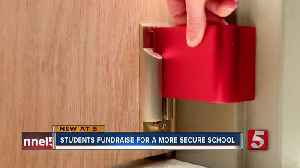 First grade students raise money to better secure doors for community service project [Video]
