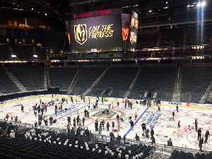 Vegas Golden Knights season ticket holders wrote the team messages of love on the ice [Video]