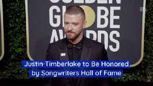 Justin TimberlakeIs Heading For The Songwriters Hall of Fame [Video]