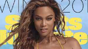 Tyra Banks makes waves on te 2019 Cover of 'Sports Illustrated Swimsuit' [Video]