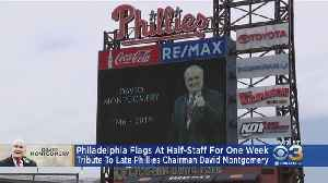 Flags Across Philadelphia Will Fly At Half-Staff In Tribute To Longtime Phillies Executive David Montgomery [Video]
