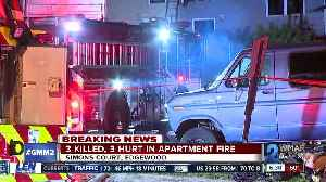 Fatal apartment fire in Edgewood kills three,others injured and managed to escape [Video]