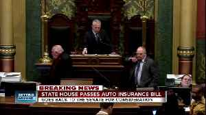 Michigan State House passes auto insurance bill; goes back to Senate [Video]