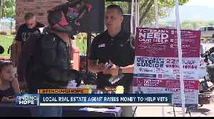 Local real estate agent aims to find hope for veterans by selling homes [Video]