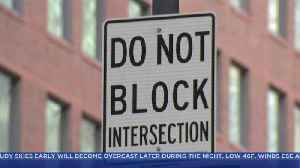 Law Against Blocking Intersections Rarely Enforced In Chicago [Video]