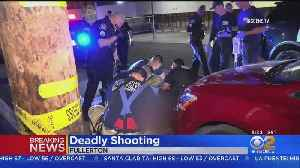 Man Found Shot To Death In Fullerton Alley [Video]