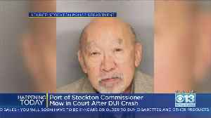 Former Stockton Vice Mayor In Court After DUI Crash [Video]