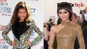 Zendaya went from Disney tween to designer queen [Video]
