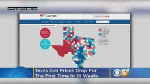 Texas Gas Prices Drop For First Time In 14 Weeks [Video]
