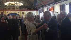 Charles and Camilla stop at beer house in Munich [Video]