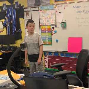 4th grader reveals to classmates that he is autistic in powerful speech [Video]