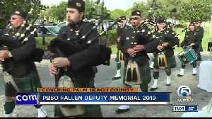 Palm Beach County Sheriff's Office honors deputies who died in the line of duty [Video]