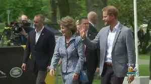 News video: Prince Harry Back To Work