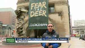 Fans looking froward to conference finals [Video]