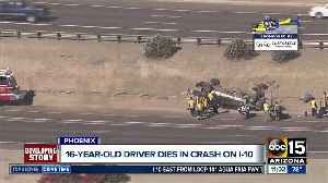 16-year-old killed in rollover crash [Video]