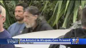 Man Arrested At Holmby Hills Home Where Gun Cache Was Found Released From Jail [Video]
