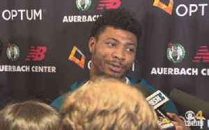 Marcus Smart Won't Blame Celtics' Downfall On Kyrie Irving [Video]