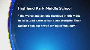 Employee On Leave After Using 'Racist' Language At Highland Park Middle School [Video]