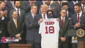 News video: Trump Honors Red Sox At White House