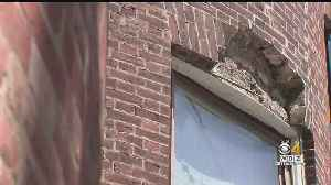 After Falling Bricks Injure Woman, City Urges Landlords To Check Their Properties [Video]