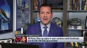 NFL Network Insider Ian Rapoport details Arizona Cardinals rookie quarterback Kyler Murray's fully-guaranteed rookie contract [Video]