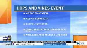 Hops and Vines Event [Video]