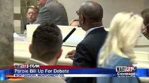 Alabama lawmakers debate parole bill in Montgomery [Video]