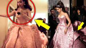 Deepika Padukone Almost FALLS In Her Barbie Doll Dress At MET GALA 2019 [Video]