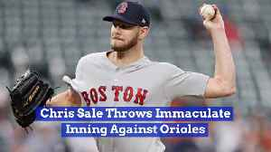 Chris Sale's Makes Boston Red Sox history [Video]