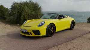 Porsche 911 Speedster Design in Racing Yellow [Video]