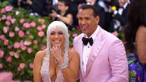 Alex Rodriguez kept apologising to photographers at Met Gala [Video]