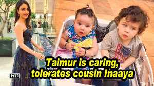 Taimur is caring, tolerates cousin Inaaya: Soha Ali Khan [Video]