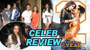 Student of the Year 2 CELEB REVIEW | Tiger, Ananya & Tara SHINES [Video]