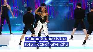 Ariana Grande Is the New Face of Givenchy [Video]