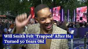 Will Smith Felt 'Trapped' After He Turned 50 Years Old [Video]