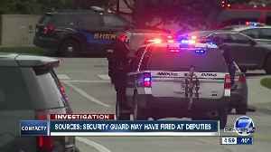 High-ranking sources say STEM School armed guard may have mistakenly fired at deputies [Video]