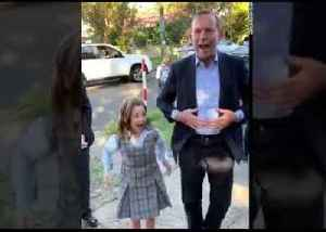 Tony Abbott Learns Schoolyard Chant Involving His Name [Video]