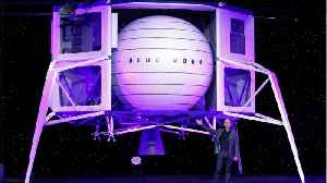 Jeff Bezos reveals first Lunar Lander [Video]
