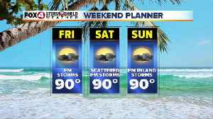 WEEKEND FORECAST: Another round of PM storms in SWFL [Video]