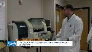 Look inside the Wisconsin lab preparing for a local measles outbreak [Video]