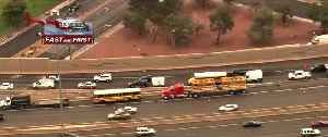 TRAFFIC ALERT: 1-15 S near Washington crash involving school bus [Video]