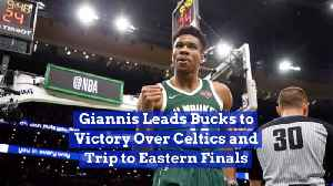 Giannis Gets His Team To Eastern Finals [Video]