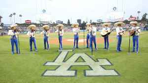 There's a special relationship between the Dodgers and Mexicans in L.A. [Video]