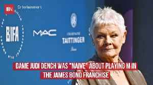 Dame Judi Dench Almost Didn't Play 'M' In The James Bond Series [Video]