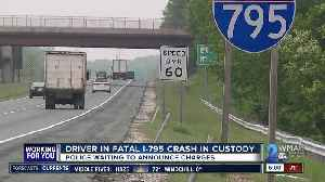 Man dead after hit-and-run crash on I-795 [Video]