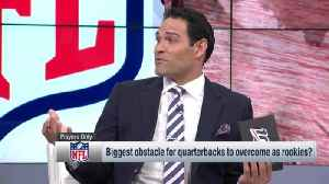 Former NFL quarterback Mark Sanchez: Guard Alan Faneca 'didn't say one word to me' as a rookie until we made playoffs [Video]